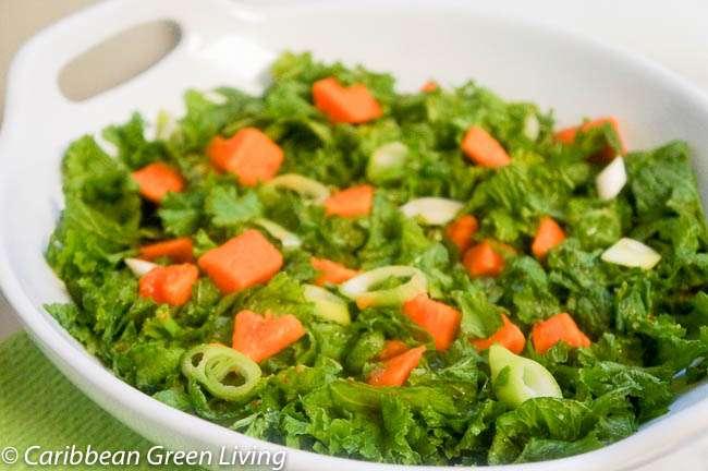 Mustard-Greens-and-Papaya-Salad-
