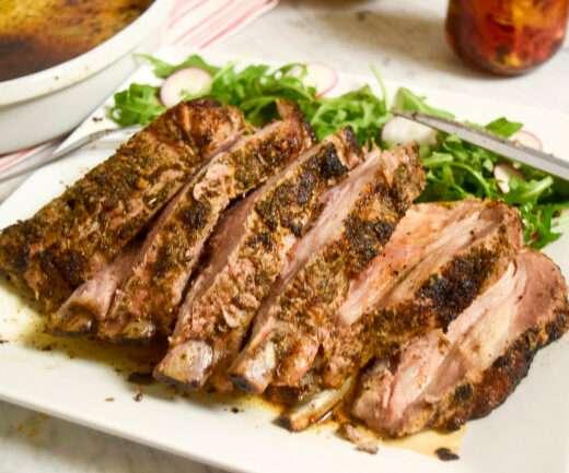 Herbed Pork Roast- caribbeangreenliving.com