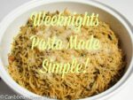 Weeknights Pasta Recipe Ideas for Kids
