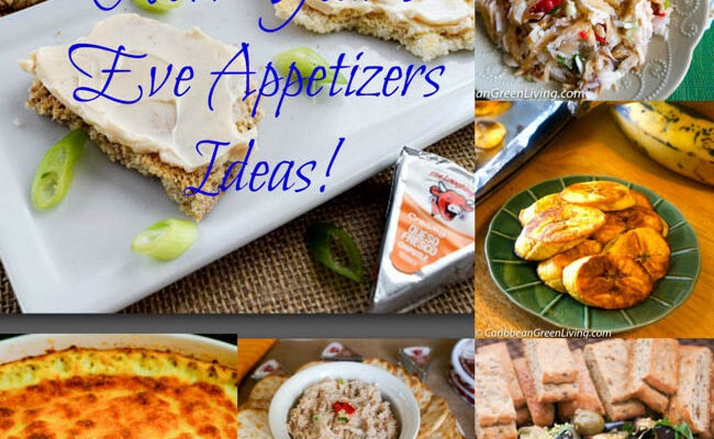 New Year's Eve Party Appetizers Ideas