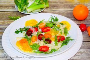 Fennel Salad with Oranges, Tomatoes and Arugula