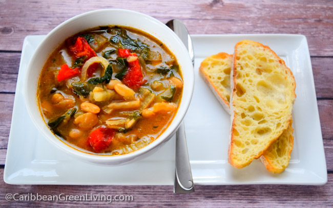 Fennel and White Bean Soup | Caribbean Green Living