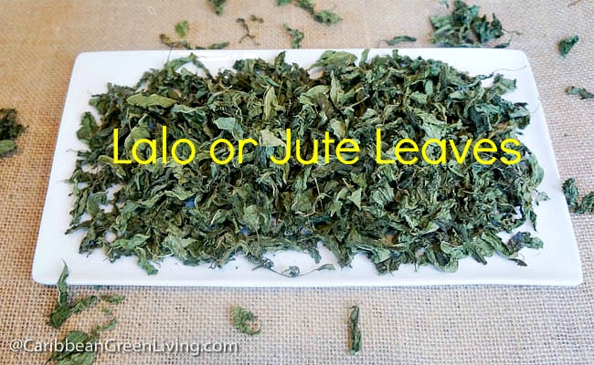 Lalo leaves or Jute Leaves