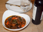 Oxtail cooked in malbec wine