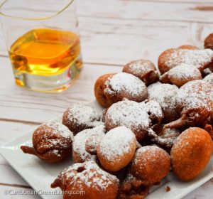 Beignets with Glass of Rum on the side 2 2