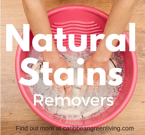 Natural Stains Removers - stain - caribbeangreenliving.com