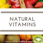 Vitamins to help give you gain more energy