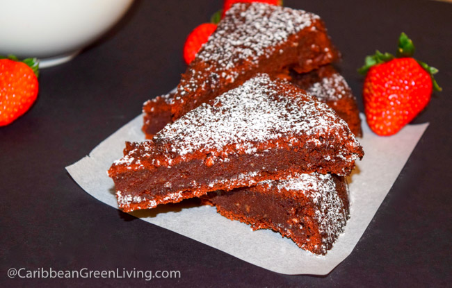 Soft Chocolate Cake with Askanya Chocolates - caribbeangreenliving.com