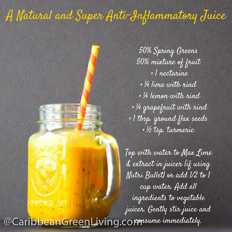 Anti-Inflammatory Juice - caribbeangreenliving.com