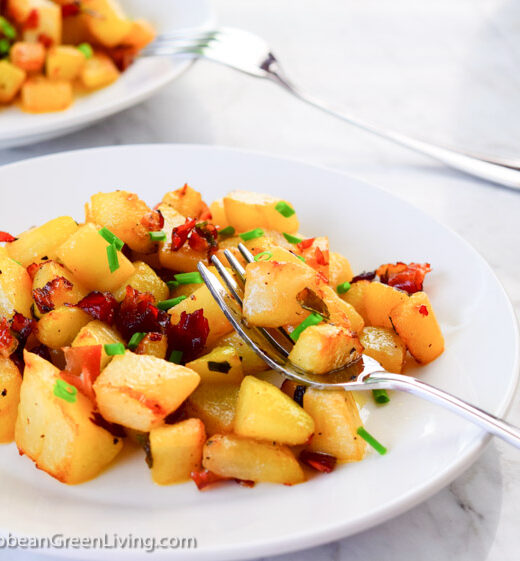 Sauteed Chayote-caribbeangreenliving.com
