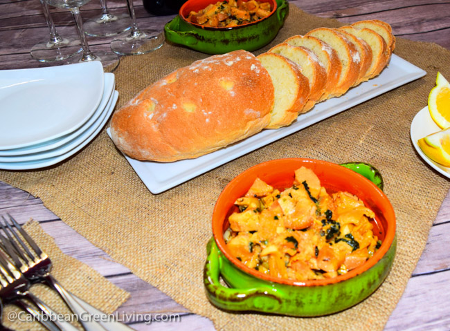 Garlic Conch - caribbeangreenliving.com