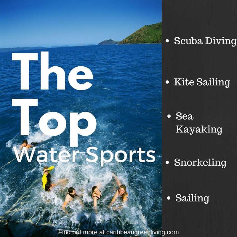 The top water sports