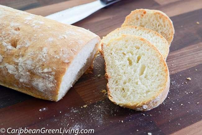 Ciabatta Bread - caribbeangreenliving.com