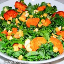Kale and Sweet Potatoes Salad 2 2