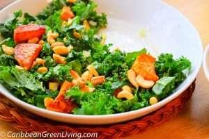 Kale and Sweet Potatoes Salad 5 2