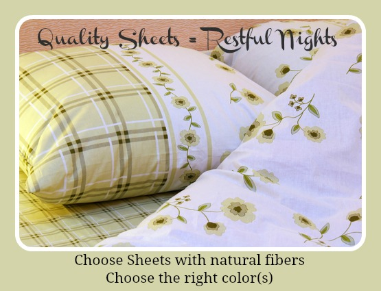 Do the sheets you choose make a difference in your sleep