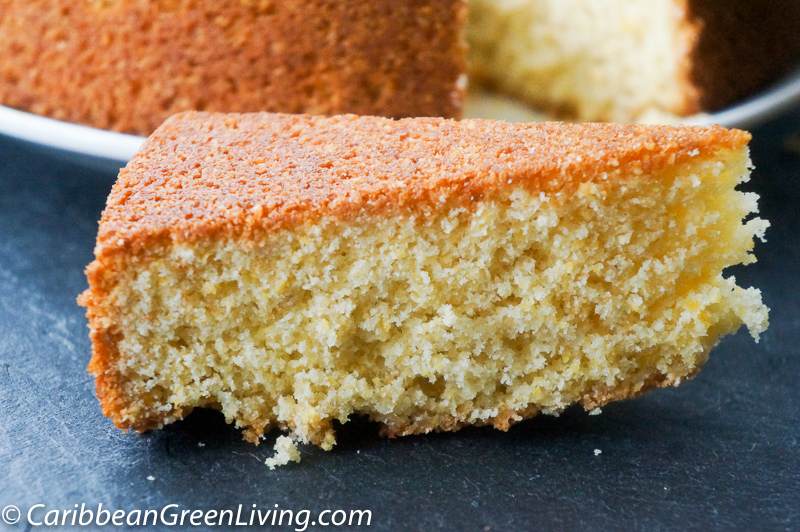 Delicious and Dairy Free Grapefruit Cake - caribbeangreenliving.com