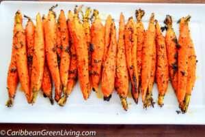 Garlic Roasted Carrots 2 2
