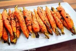 Garlic Roasted Carrots 3 2