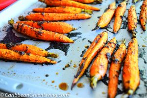 Garlic Roasted Carrots 5
