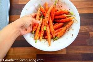 Roasted Garlic Carrots 5 2