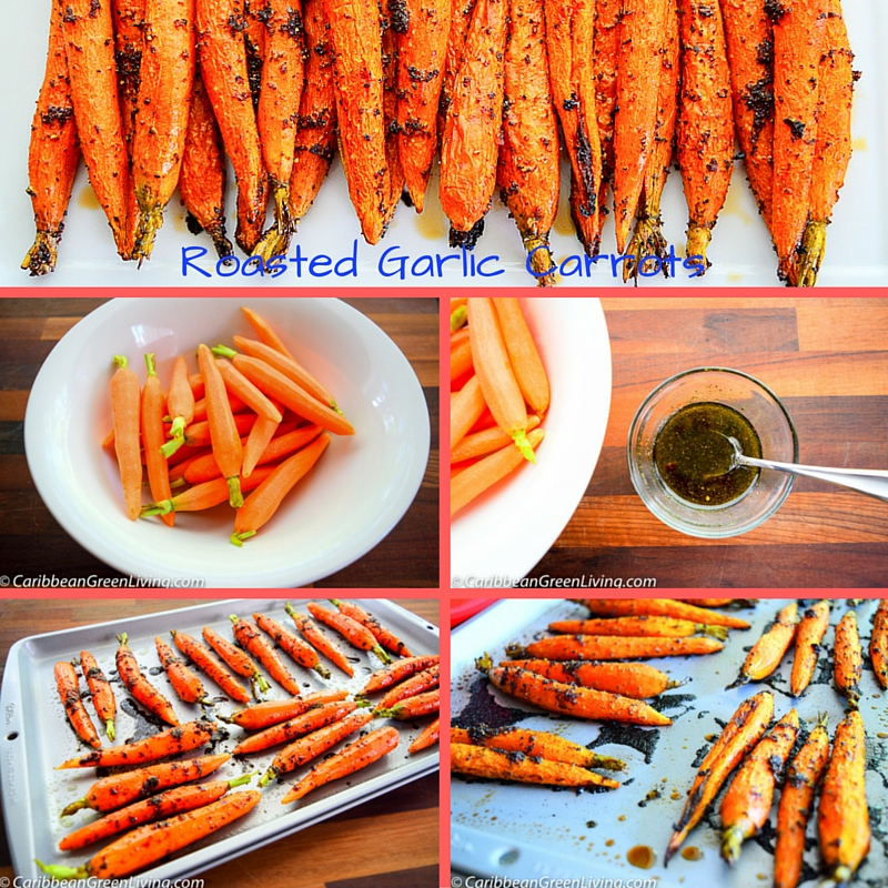 Roasted Garlic Carrots