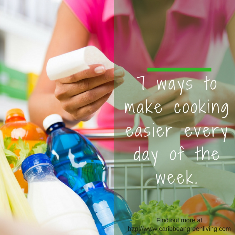 7 ways to make cooking easier every day the week