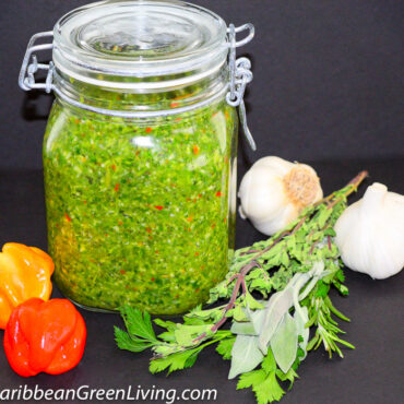 How to make a simple Fresh Herbs and Spices Seasoning