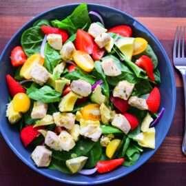 Swordfish salad 5 1