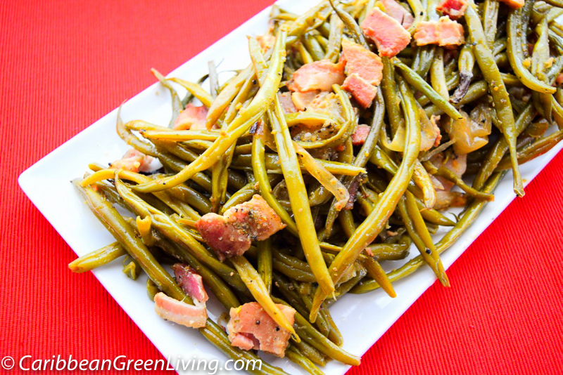 String Beans and Bacon