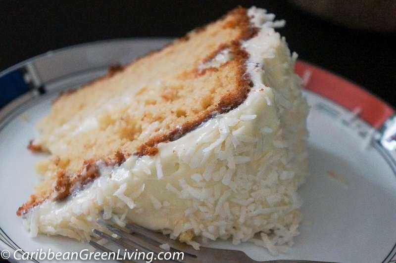 Delicious Coconut Cake