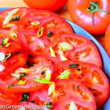 Easy tomato salad
