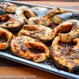 Baked Salmon Steaks 4 1