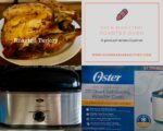 20-Quart Self Roasting Roaster Oven with time-saving defrost setting by Oster