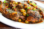 Slow cooked Duck with Green Olives and Herbes de Provence