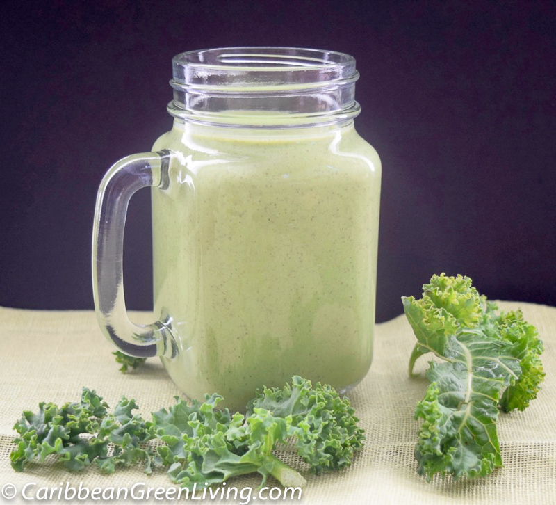 My favorite Spinach and Kale Smoothie