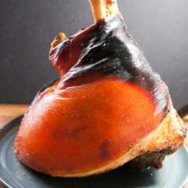 Roasted Fresh Bone In Ham 1
