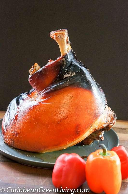 Roasted Fresh Ham