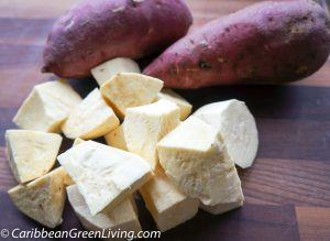 White Potatoes cut up