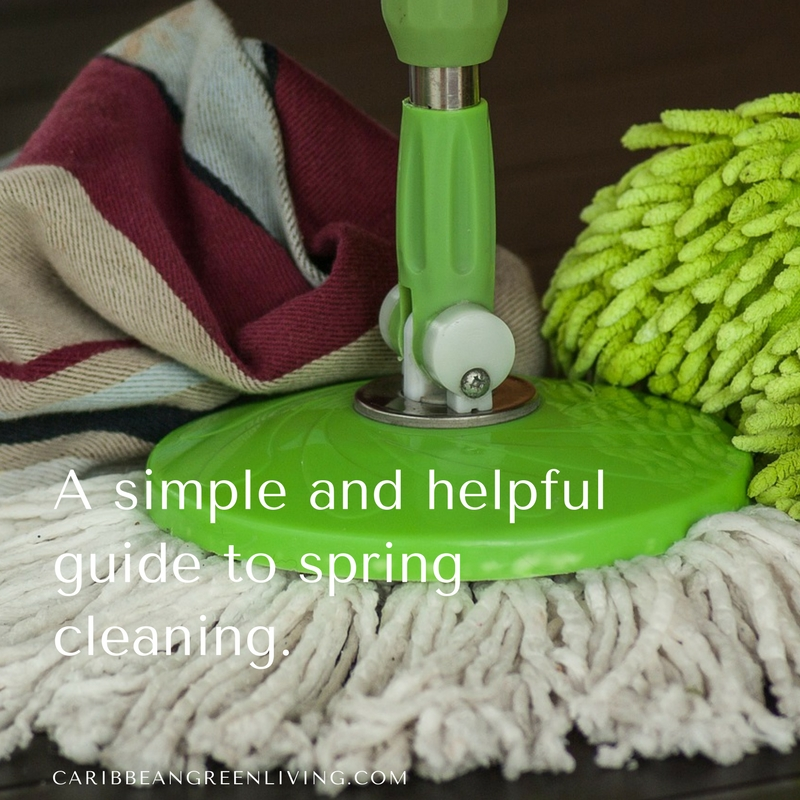 A simple and helpful guide to spring cleaning
