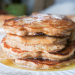 Fluffy Apple Pancakes with Maple Syrup Butter