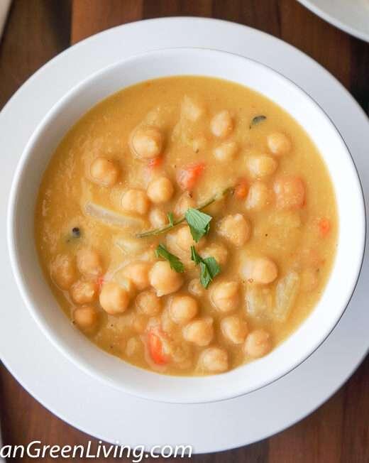 Garbanzo Beans (Chickpeas) Puree