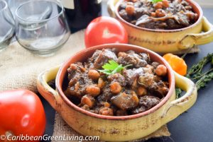 Lamb Stew with Eggplant and Chickpeas 4 1