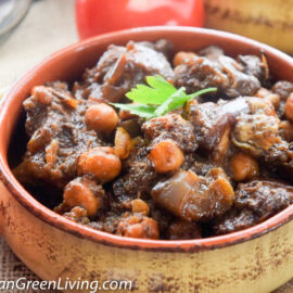 Lamb Stew with Eggplant and Chickpeas 6 1