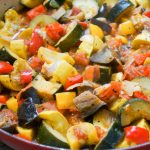 Ratatouille, a Provencal Vegetables Stew