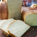 Sally Lunn Bread, an easy bread machine recipe