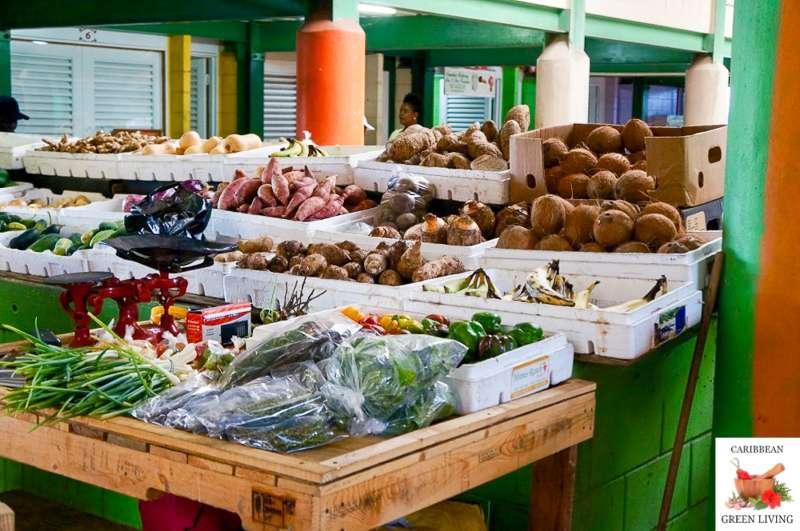 Caribbean Market St Lucia