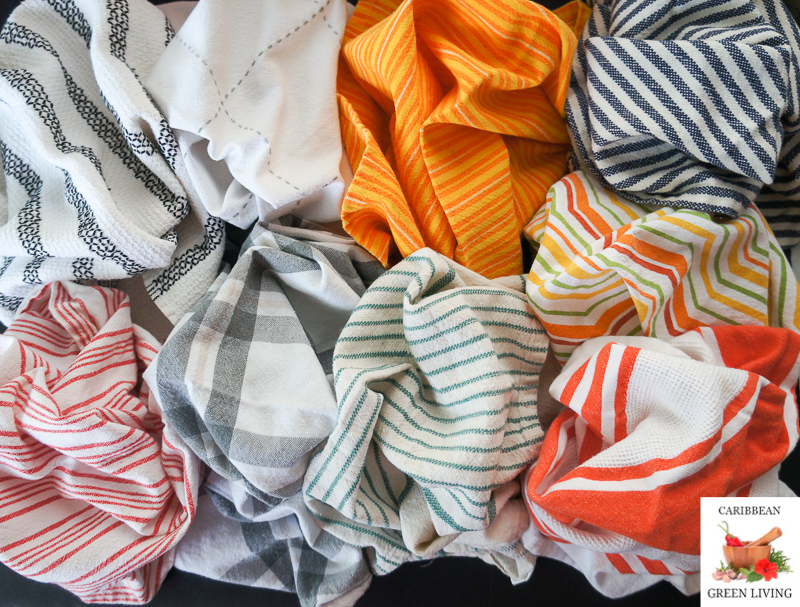 How often and how to wash your kitchen towels