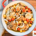 Zesty Lemon Pepper Chicken with Cherry Tomatoes