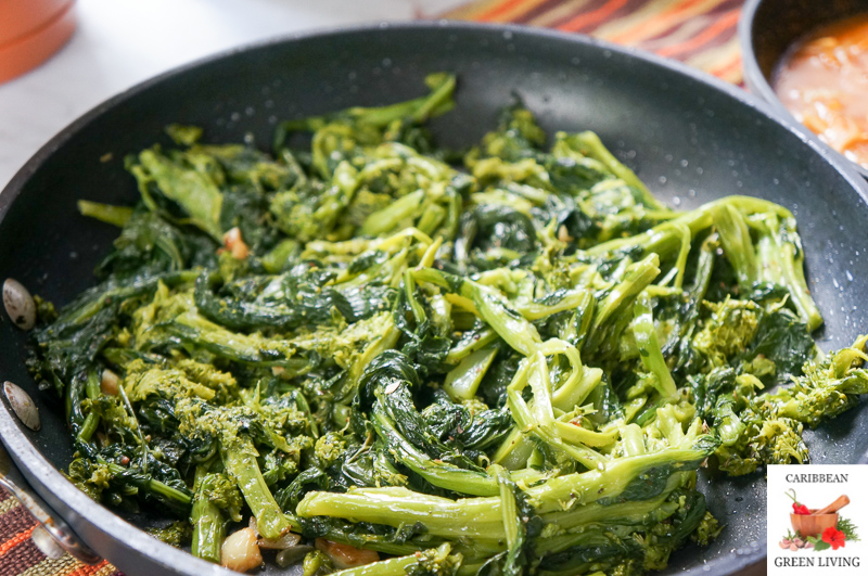 The easiest way to cook Broccoli Rabe